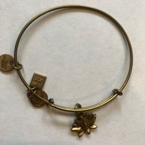 Alex and Ani Bracelet- lotus flower